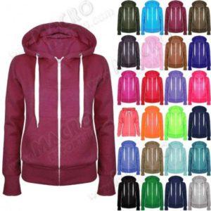 Unisex Plain Zip Up Hoodies Sweatshirt, Hoodies Stylish Brand New on Demand Hoody