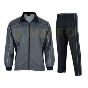 Custom Digital Printed Logo Mens Training Jogging Tracksuits With Elastic Cuffs